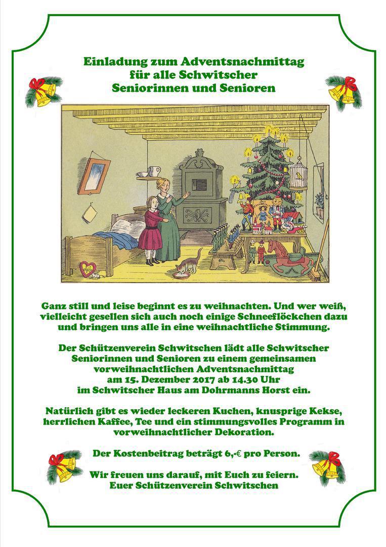 Schützenverein Schwitschen e.V. von 1898 - 2017